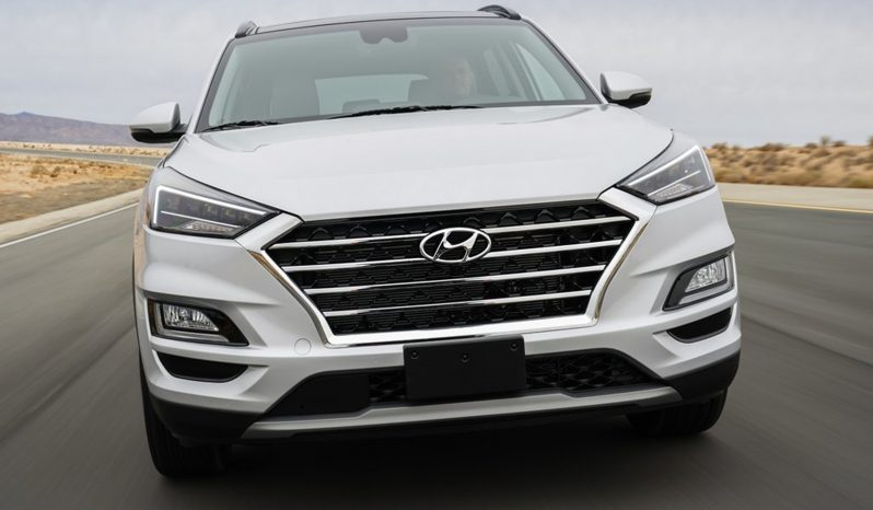 Hyundai Tucson lleno