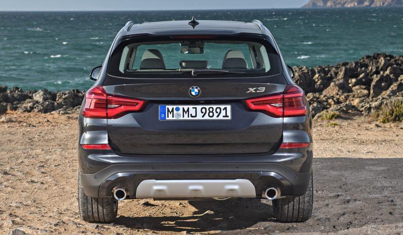 BMW X3 lleno