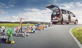Opel Combo Life lleno