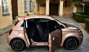 FIAT 500e lleno